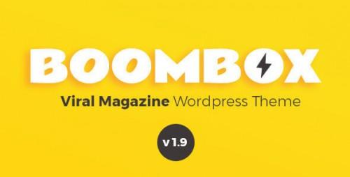 NULLED BoomBox v1.9.0.1 - Viral Magazine WordPress Theme