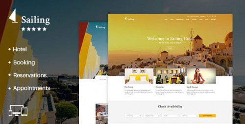 [GET] Nulled Sailing v1.13.1 - Hotel WordPress Theme product