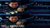 Без черных полос (На весь экран) Три икса: Мировое господство 3D / xXx: Return of Xander Cage 3D (BY_AMSTAFF)  Вертикальная анаморфная стереопара