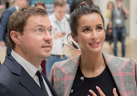 """Тина Канделаки посвятила пост в Instagram Василию Бровко: """"Горжусь мужем"""""""