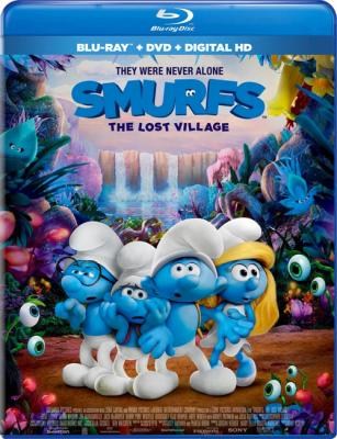 Смурфики: Затерянная деревня / Smurfs: The Lost Village (2017) BDRip 1080p 3D | HOU