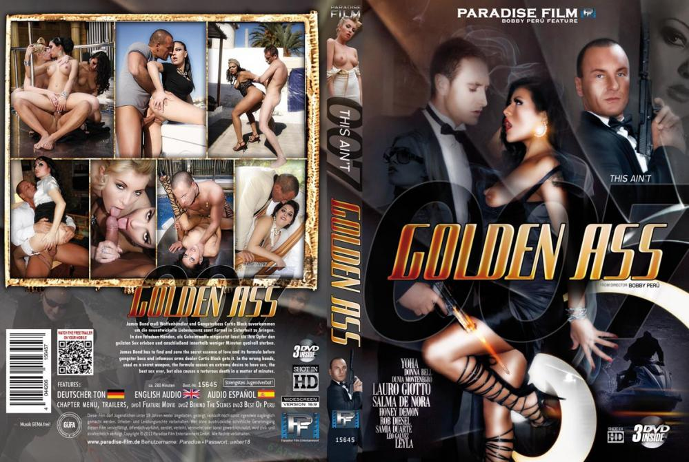 This Ain't 007 - Golden Ass / Агент 007 - Золотая Задница (Bobby Peru, Paradise Film) [2011 г., Feature, All Sex, Extremely Oral, 540p, WEB-DL] (Split Scenes)