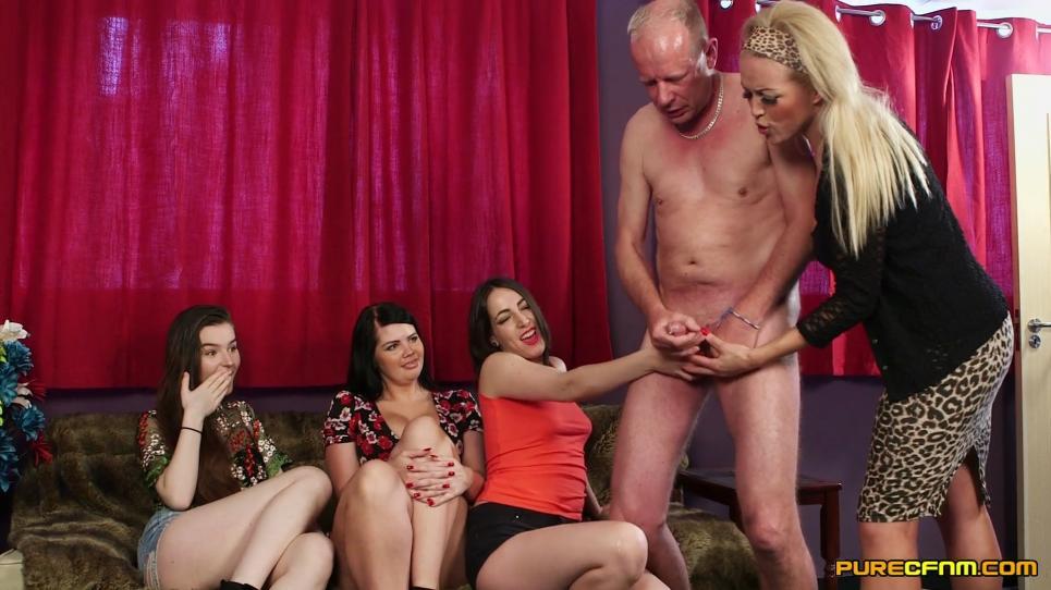 Kylie K., Liz Rainbow, Rebecca Smyth, Selina Sky - Daughter's Friends [1080p]