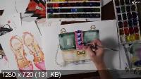 Мини-курс по Fashion иллюстрации (2017)
