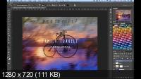 Делаем обложку журнала. Пять видеоуроков (2017) HDRip