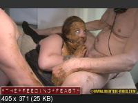 Hightide-Video: (endi, 3 males) - THE FEEDING FEAST [HD 720p] - Humiliation, Fisting, Group