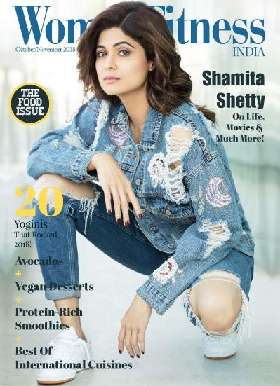 Women Fitness India October November2018