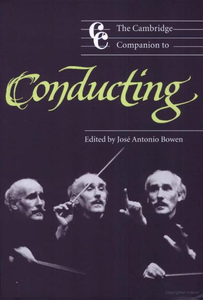 The Cambridge Companion to Conducting